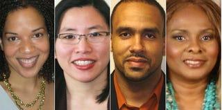 Leslie Granston; Portia Wu; Dedrick Muhammad; Volora Howell