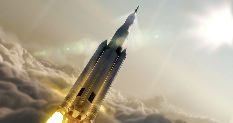 Illustration for article titled Comienza la carrera: Boeing jura vencer a Musk en poner el primer cohete tripulado en Marte