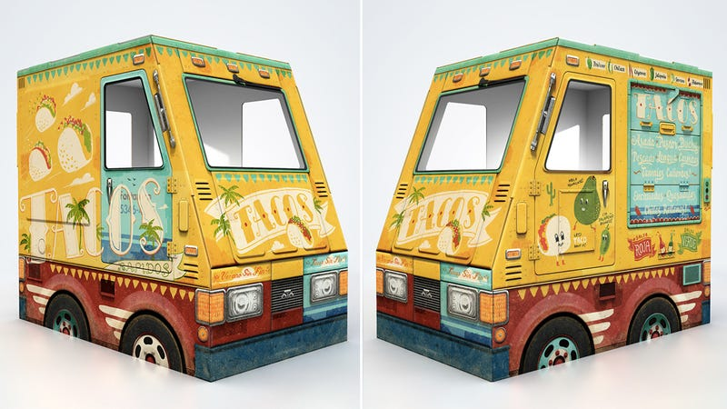 Illustration for article titled Playtime Can Also Teach a Profession With This Tiny Taco Truck