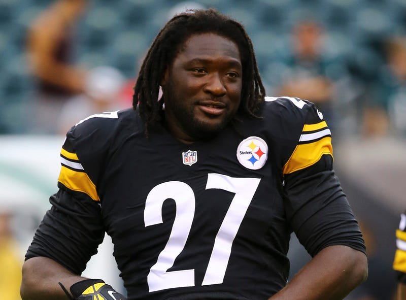 Illustration for article titled Fed-Up LeGarrette Blount Left The Steelers Game Early