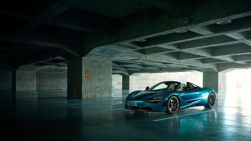 Illustration for article titled The 2019 McLaren 720S Spider Is A True 200 MPH Open Top