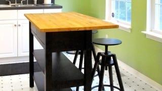 Hack An Ikea Sideboard Into A Kitchen Island