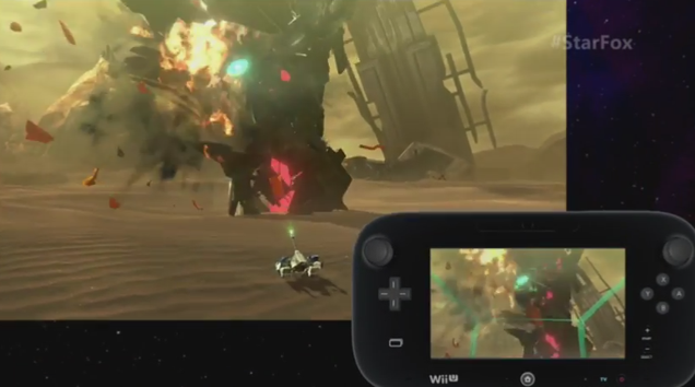 Star Fox manette Wii U