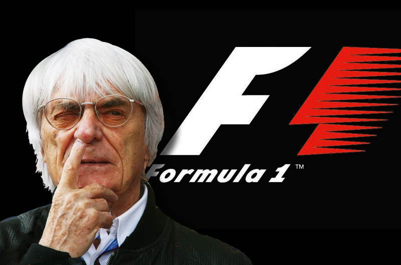 Illustration for article titled Bernie Ecclestone - Gold Digger