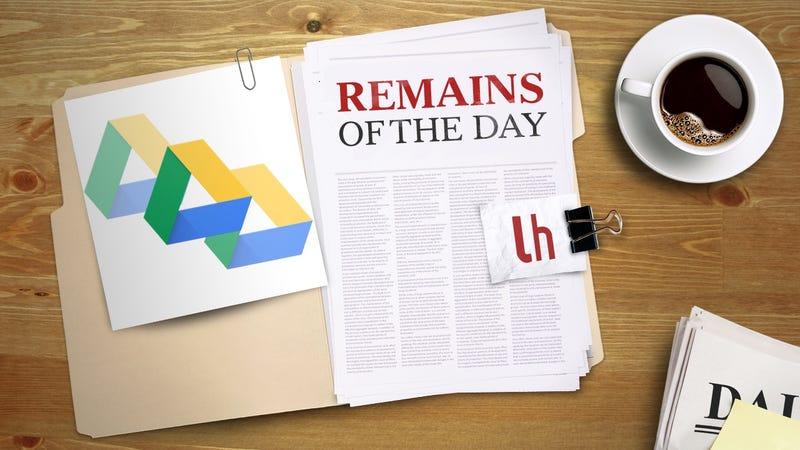 Illustration for article titled Remains of the Day: Google Drive Gets Better Duplicate File Management