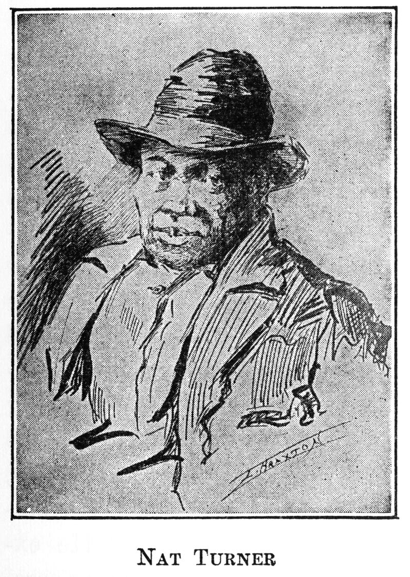 Portrait of enslaved African American Nat Turner (1800-1831), who led a rebellion in 19th-century Virginia. Illustration from a book published in 1922.Interim Archives/Getty Images