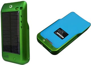 Illustration for article titled Solar Surge Is The First Apple Licensed Solar Charging Case For The iPhone and iPod Touch