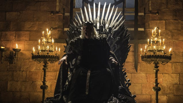 No One Should Sit On The Iron Throne