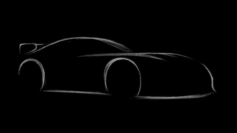 Illustration for article titled Unaware That The Supra Was Unveiled Last Month: Toyota Releases Teaser Picture Of Another Concept
