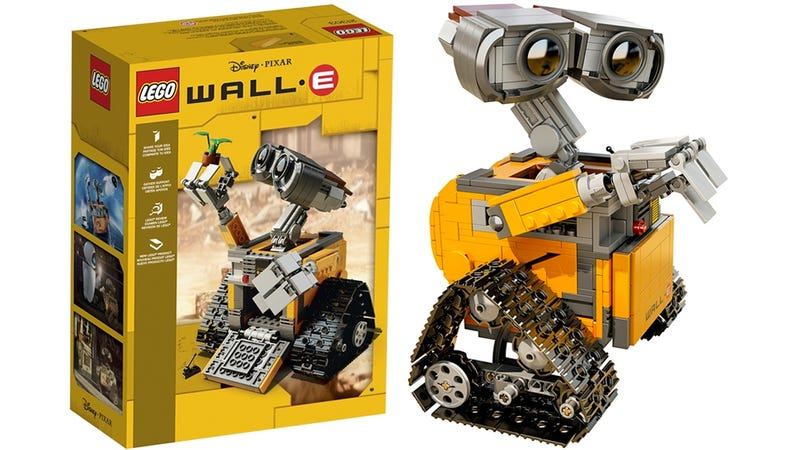 Illustration for article titled Lego Has Finally Officially Revealed Its New WALL•E Set