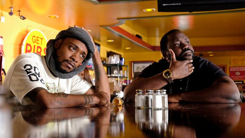 Keith Stanfield and Bryan Tyree Henry (Photo: Guy D'Alema/FX)