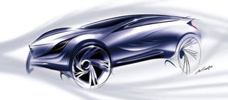 Illustration for article titled Mazda To Reveal Anonymous Concept Crossover In Moscow