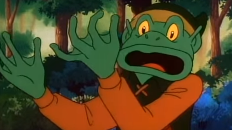 Remember when Link kissed a mummy and turned into a frog?