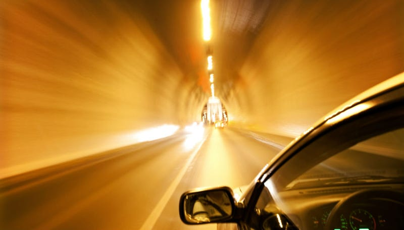 Illustration for article titled Teen Holds Breath Driving Through Tunnel, Crashes Car