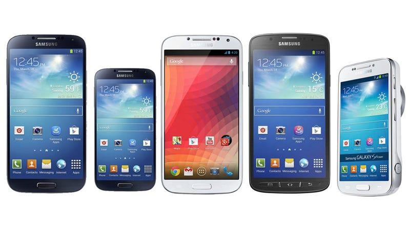 Un Galaxy S4, 5 versiones: la obsesión de Samsung por la dominación