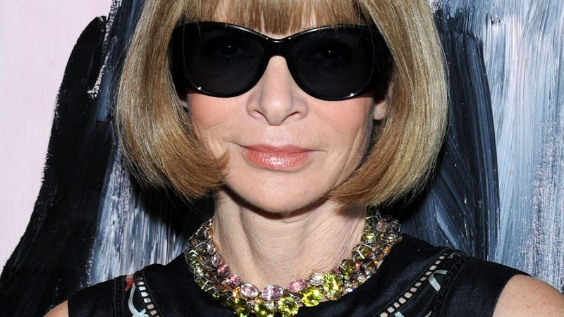 Illustration for article titled Um, Anna Wintour Did the Ice Bucket Challenge and Her Hair Got Wet