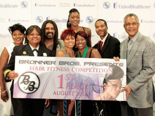 """2012 """"Hair Fitness"""" contest winners"""