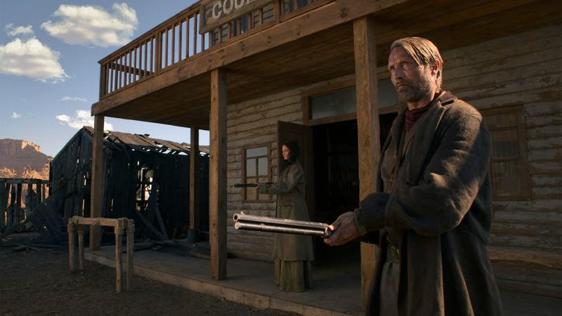 Illustration for article titled Mads Mikkelsen takes revenge in the West in The Salvation