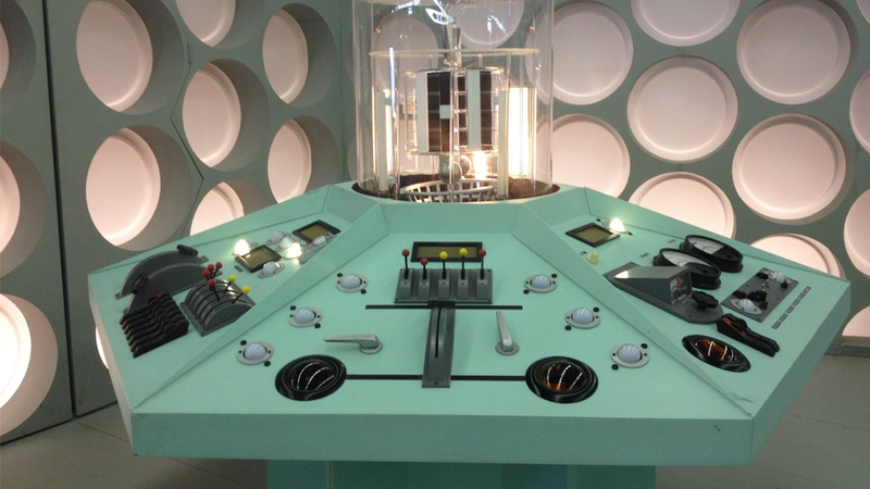 Illustration for article titled Behold, the new TARDIS Console from An Adventure in Space and Time!