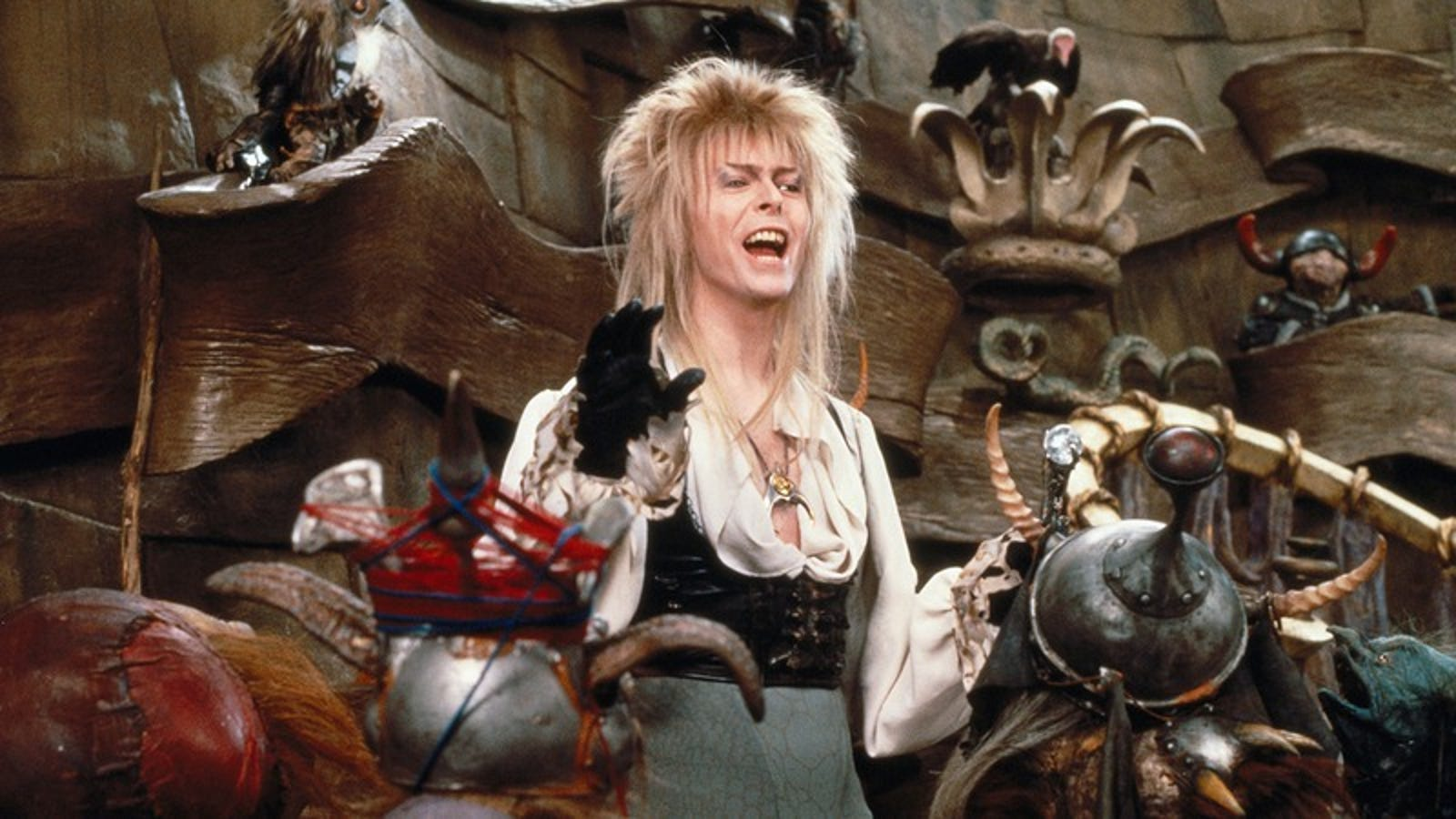 Labyrinth's soundtrack is an essential part of David Bowie ... Labyrinth 1986