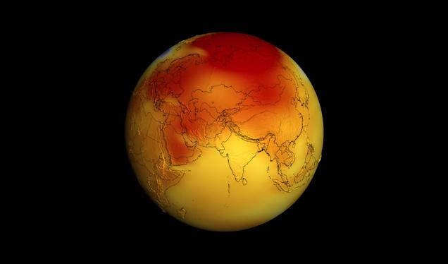 Earth: Still Hot