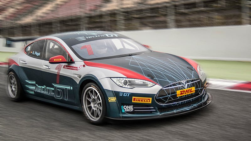 This All-Tesla Electric Race Car Series Just Got The ...