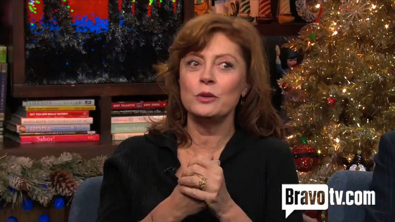 Illustration for article titled Susan Sarandon Was Stoned at 'Almost All' of the Award Shows