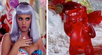 Illustration for article titled Gummi Bears Object To Depiction In Katy Perry Video