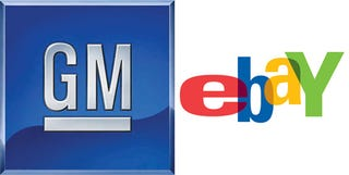 Illustration for article titled GM Partners With EBay To Auction New Cars