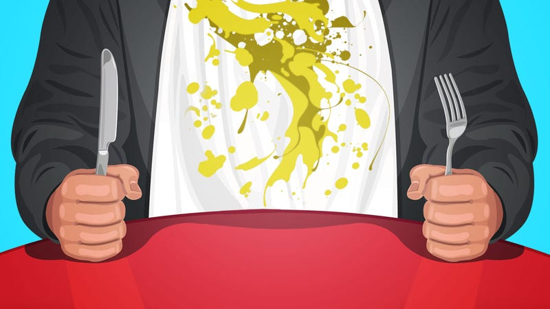Illustration for article titled How to Eat These Sloppy Foods without Making a Mess of Yourself