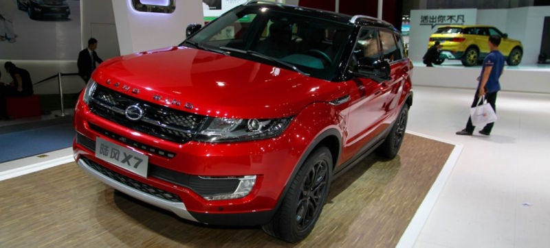 The copycat LandWind X7.