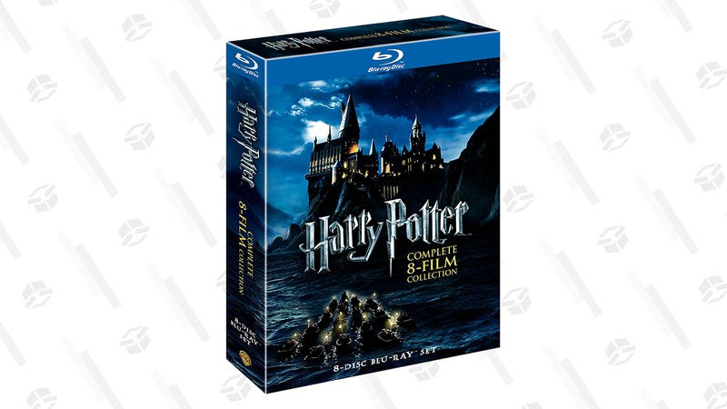 Harry Potter Film Collection Gold Box | Amazon