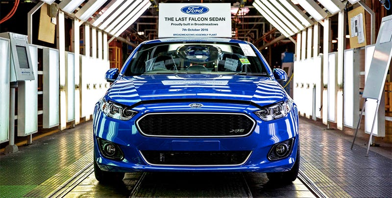 Ford farewells Australian manufacturing