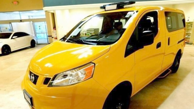 Illustration for article titled At $14,777, Could This 2014 Nissan NV200 Taxi be an Uber-Good Deal?