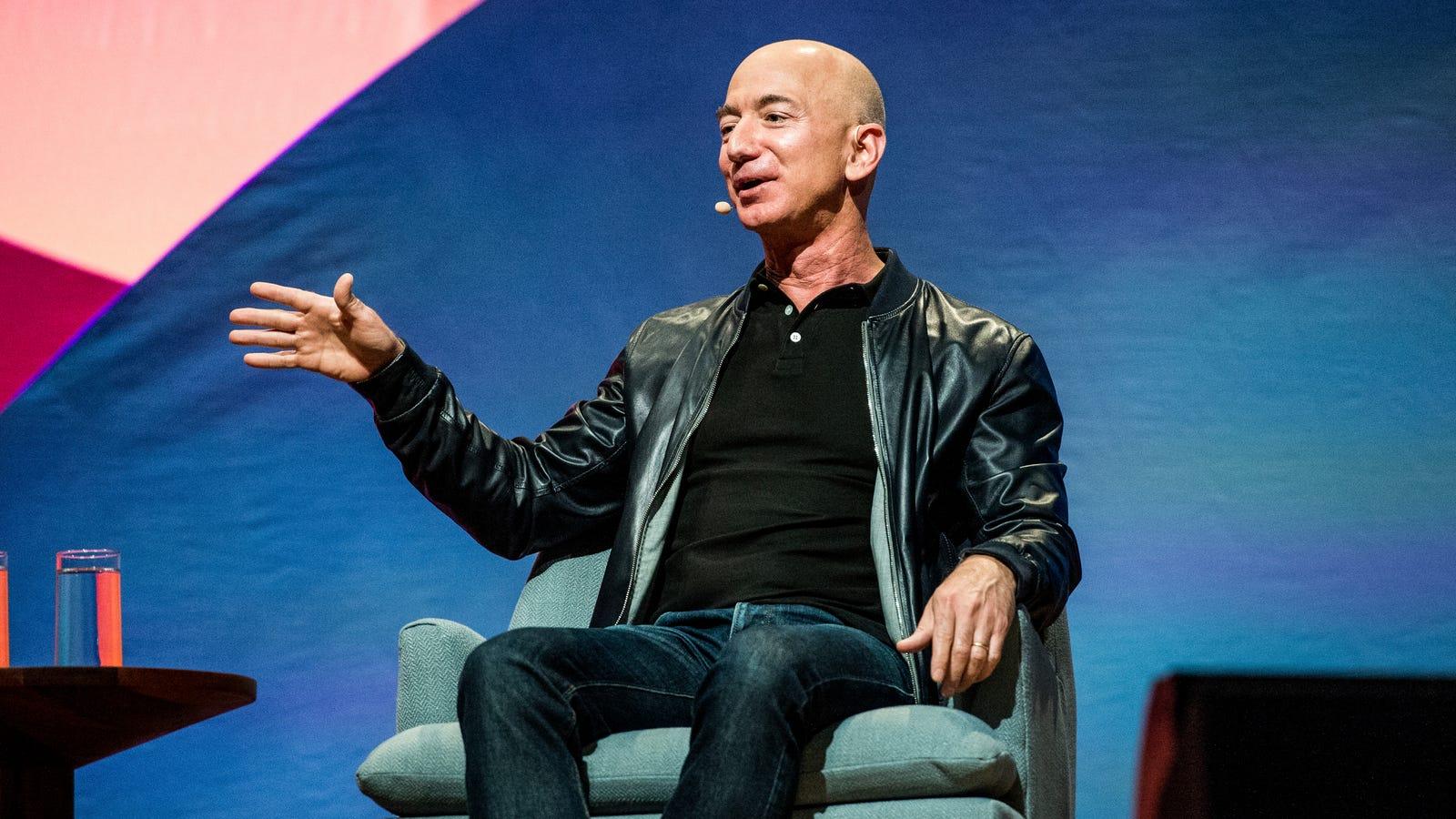 Jeff Bezos Details Plan to Make Blue Origin the Amazon of the Moon