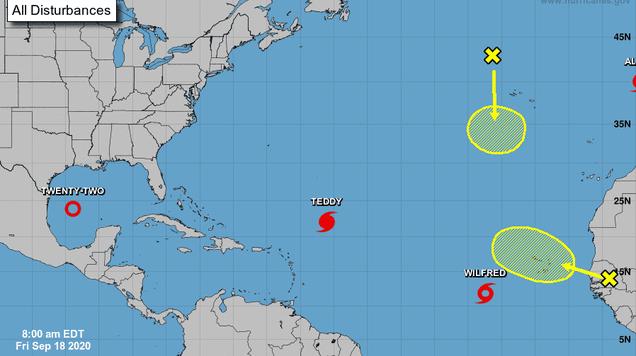 Hurricane Season Breaks Records, Map