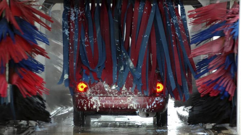 Illustration for article titled Can your car get through the wash?