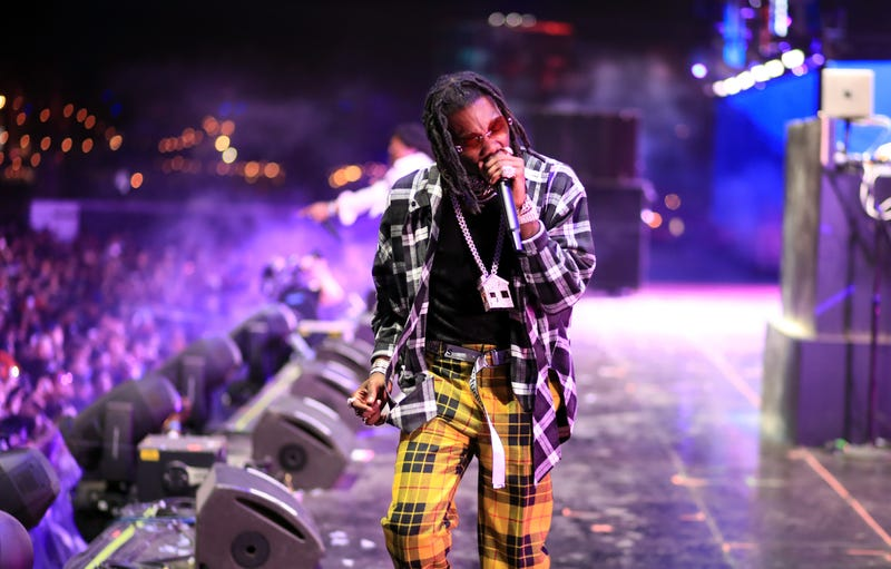 Offset of Migos performs onstage during the 2018 Coachella Valley Music And Arts Festival at the Empire Polo Field on April 22, 2018 in Indio, Calif.