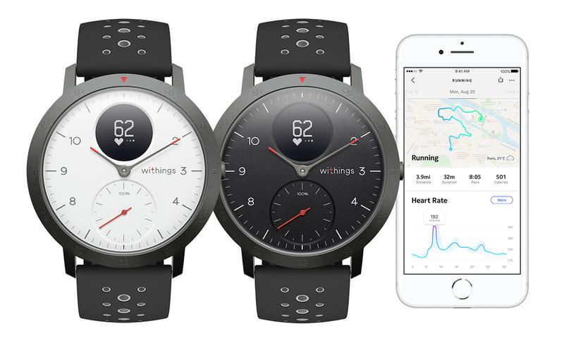 ⌚ Smartwatch analógico minimalista y sumergible con GPS y 25 días de batería