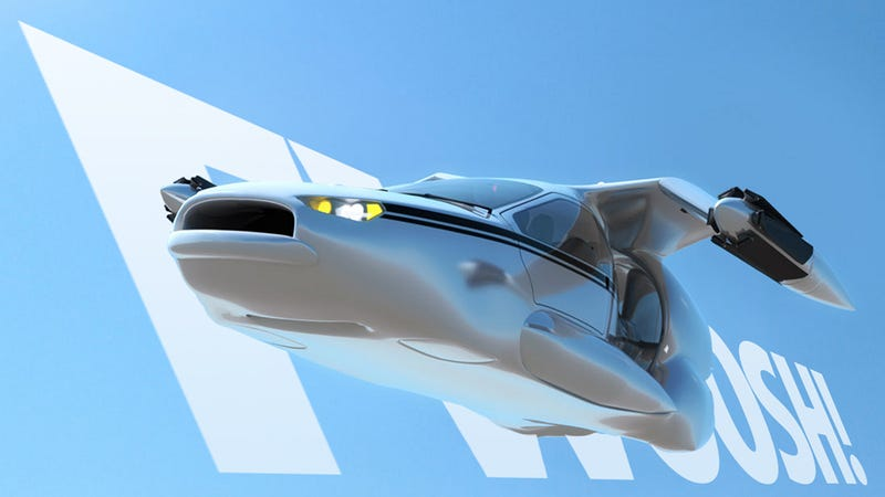 Illustration for article titled Awesome New Flying Car Doesn't Require Pilot License