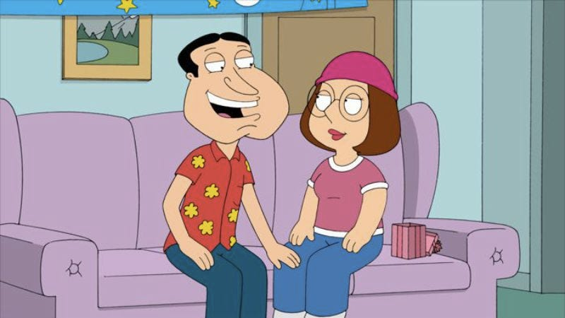 """Illustration for article titled Family Guy: """"Quagmire And Meg"""""""