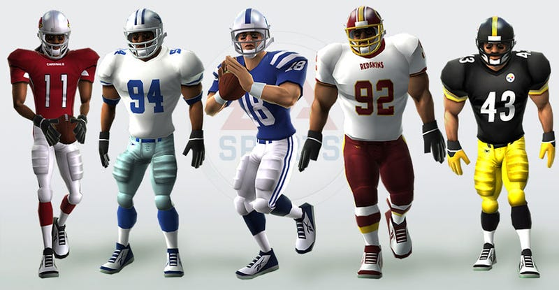 """Illustration for article titled EA Shows Off Madden 10 For Wii's """"Genre-Defining Art Style"""""""