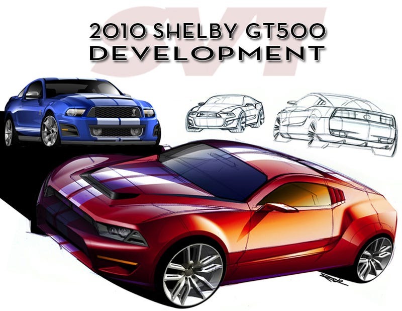 Illustration for article titled 2010 Mustang Shelby GT500: How Ford Developed The New Snake
