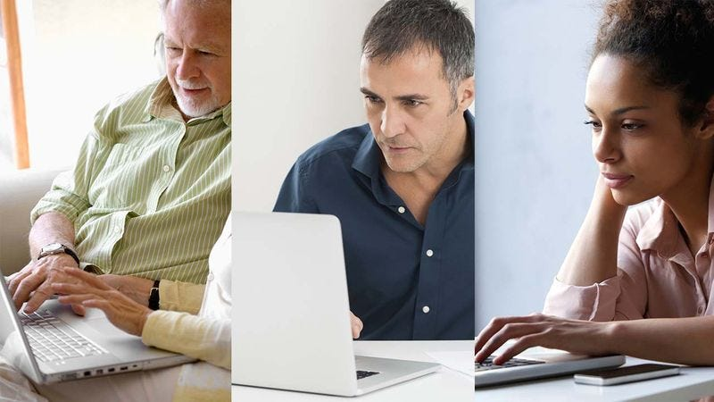 Illustration for article titled This Is How Different Generations Spend Their Time Online