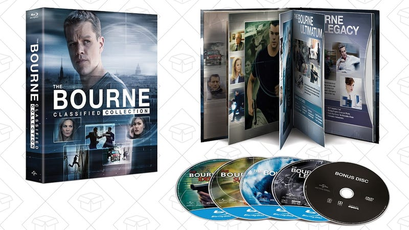 The Bourne Classified Collection, $18