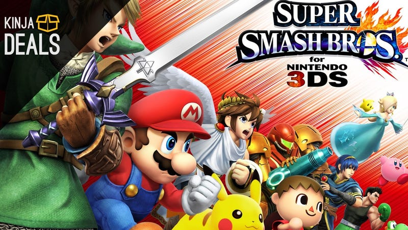 Illustration for article titled Super Smash Bros. is Down to $30 on 3DS