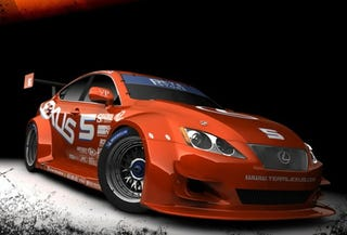 Illustration for article titled Team Lexus Entering ALMS GT2 With Lexus IS 350 GT2
