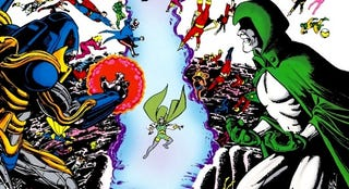 Illustration for article titled A History of DC Crossovers: The Bronze Age