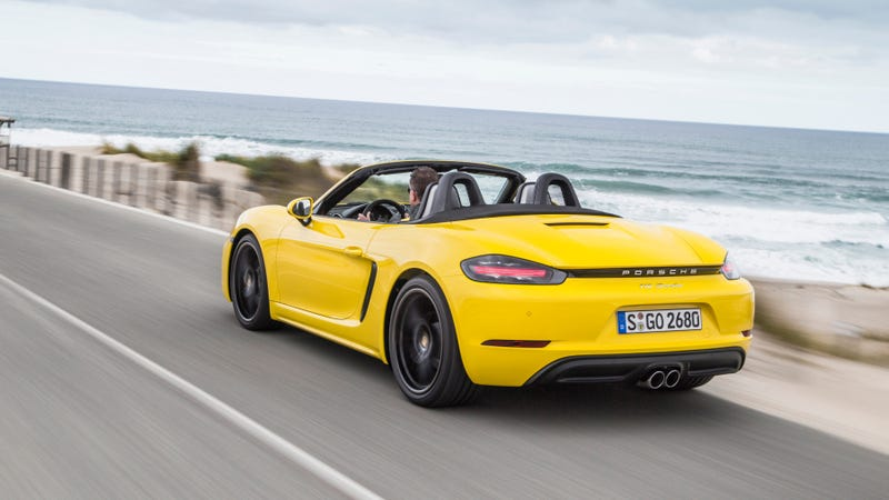 Illustration for article titled All-Electric Porsche 718 Boxsters and Caymans Are Coming in 2022: Report