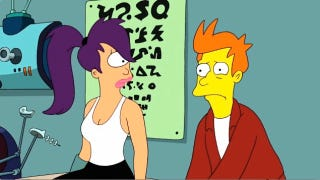 Illustration for article titled This Week's TV: Why has Futurama's Fry been Simpsonized?